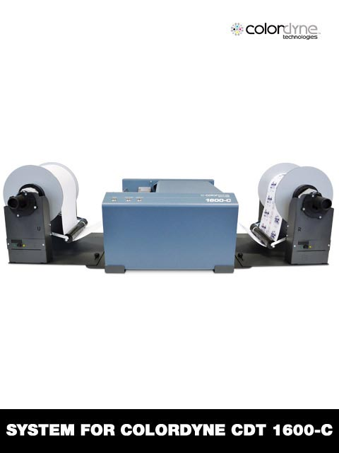 roll to roll system for Colordyne CDT-1600C